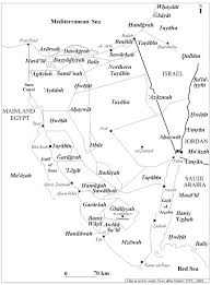 Negev Desert Map Map Of Bedouin Tribes In The Sinai Peninsula Discover Sinai