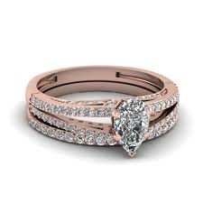 Gold Wedding Ring Sets by Get Latest Designs Of 14k Rose Gold Wedding Ring Sets
