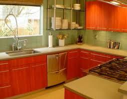 Red Colour Kitchen - orange kitchen colour kitchen colours 2012 u2013 designs ideas and