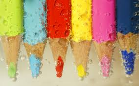 colorful pencils wallpapers colored pencils under water wallpaper photography wallpapers