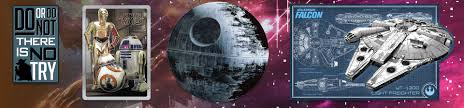 star wars home decor wall art u0026 more popclassics com