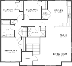 7 X 10 Bathroom Floor Plans by 28 3 4 Bath Floor Plans Small Narrow Bathroom Floor Plan