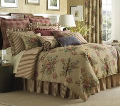 Colorful Queen Comforter Sets Bedroom Exciting Rose Tree Bedding With Laminate Floor Combine