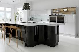black gloss kitchen ideas kitchen cabinets gloss white car black and white gloss