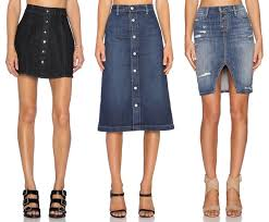 denim skirts how to style button up denim skirts for fall the