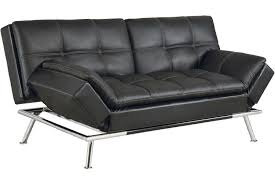 Futon Leather Sofa Bed Best Futon Matrix Convertible Futon Sofa Bed Sleeper Black