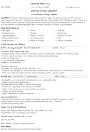 Sample Cna Resumes by Resume Samples Cna Cna Duties Resume Objective Cna Resume Samples