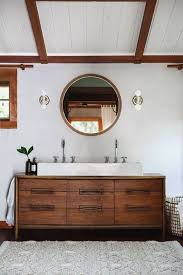 mid century modern bathroom vanity realie org