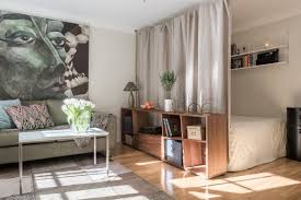 studio apartment with half wall room divider gravityhomeblog com