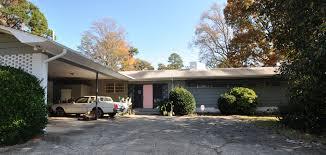 Modern Home Design Charlotte Nc L Shaped Time Capsule Ranch In Town U0026 Country 50 U0027s 60 U0027s Mcm Home
