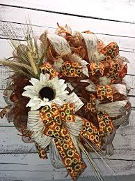 Decorative Wreaths For Home by Fall Wreath Fall Wreath For Front Door Large Fall Wreath Fall
