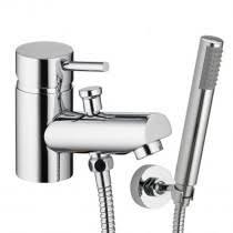 Bathroom Taps With Shower Attachment Monobloc Bath Shower Mixers One Shower Mixers
