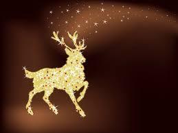 magic christmas reindeer christmas vector graphics art free