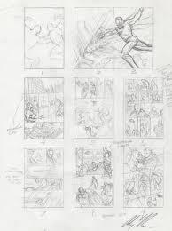 superman kingdom come layout sketch