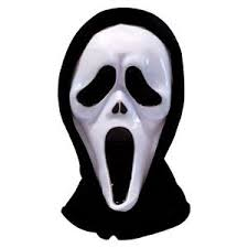 Halloween Costumes Scream Mask 1x Fancy Dress Scream Horror Ghost Mask Screaming Movie White Face