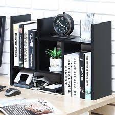 5 shelf desk organizer wood desk organizer ebay