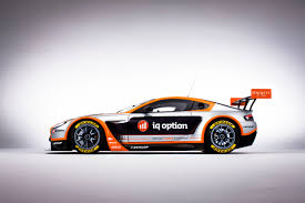 aston martin racing team iq option goes for u0027speedy and reliable u0027 with aston martin