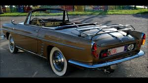 renault caravelle interior 141 6 renault floride 1960 youtube