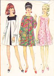 1960s vintage womens sewing pattern mod dress by sutlerssundries
