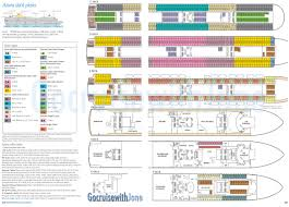Cruise Ship Floor Plans How To Build Cabin Plan Azura Pdf Plans