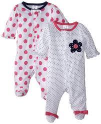 gerber baby clothes pajamas sleeper newborn sleep footed