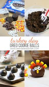 thanksgiving oreo turkey cookies recipe thanksgiving oreo cookie ball turkeys see vanessa craft