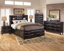 Modern King Size Bed With Storage Bedroom Modern Black Bedroom Sets Black Furniture Bedroom Black