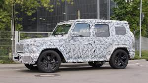 mercedes g class 2019 mercedes g class spied up close in standard and amg trims