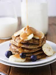 Blueberry Pancake Recipe Skinny Banana Blueberry Pancakes It U0027s Cheat Day Everyday