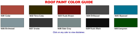 roof spray paint evergreen color