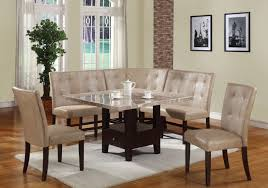 White Kitchen Furniture Sets White Kitchen Nook Sets A White Painted Wood Oval Table Might
