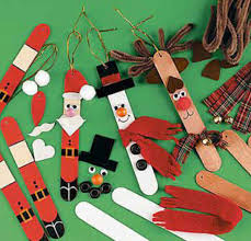 fun easy christmas crafts site about children