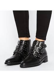 womens boots asos asos studded s ankle boots compare prices and buy