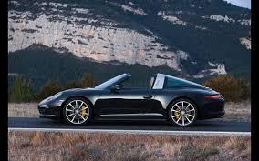 Porsche 911 Black - 2014 porsche 911 targa black static 1 2560x1600 wallpaper
