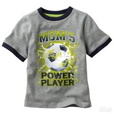 Baby Boy Football Clothes Boy Tops Tees Shirts Soccer Tshirt Cotton Jerseys Jumper Baby T