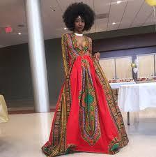 robe africaine mariage véhicule un message fort grâce à sa robe de promo femina
