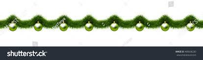ornaments balls tree stock vector