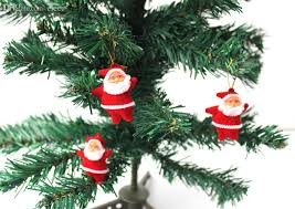 wholesale christmas tree ornaments decoration santa claus toy
