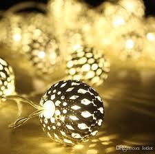 solar power led lights 100 bulb string 10 led solar power metal ball fairy string lights morocco bulb