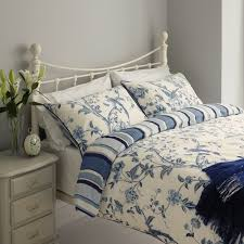 Royal Blue Bedroom Curtains by Laura Ashely Summer Palace Royal Blue Duvet Cover Laura Ashley