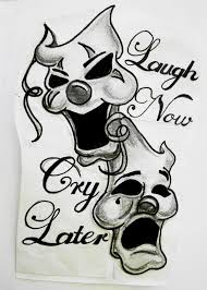 smile now cry later clipart 13