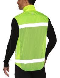 luminous cycling jacket craft men u0027s active run safety vest amazon co uk sports u0026 outdoors