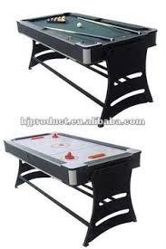 multi game table spin around pool table air hockey table dinning