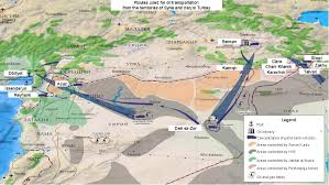 Isis Syria Map by Fact Checking Russian Mod U0027s Claims On Isis U0027s Oil Business