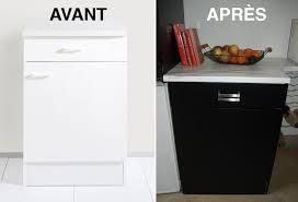 autocollant meuble cuisine adhesif decoratif pour meuble maison design bahbe com de