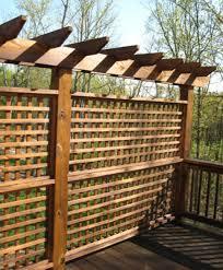 backyard privacy screens trellis home outdoor decoration