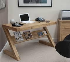 Z Shaped Desk Opus Solid Oak Computer Desk Z Shaped Oak Furniture From House