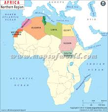 tunisia on africa map africa countries map africa map
