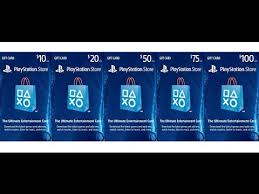 store gift cards playstation store gift card