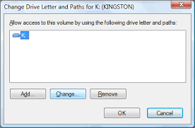 how to change a drive letter in windows xp vista 7